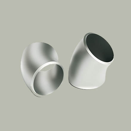 Alloy Steel Buttweld 45 Degree Short Radius Elbows