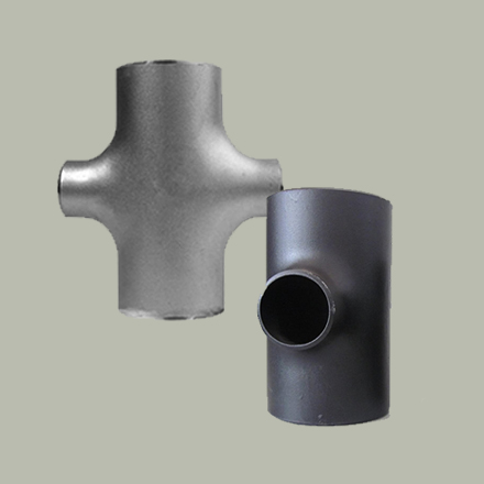 Alloy Steel Buttweld Reducing Outlet Tees and Crosses