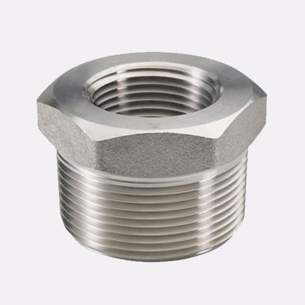 Hastelloy C-22 Threaded Bushing