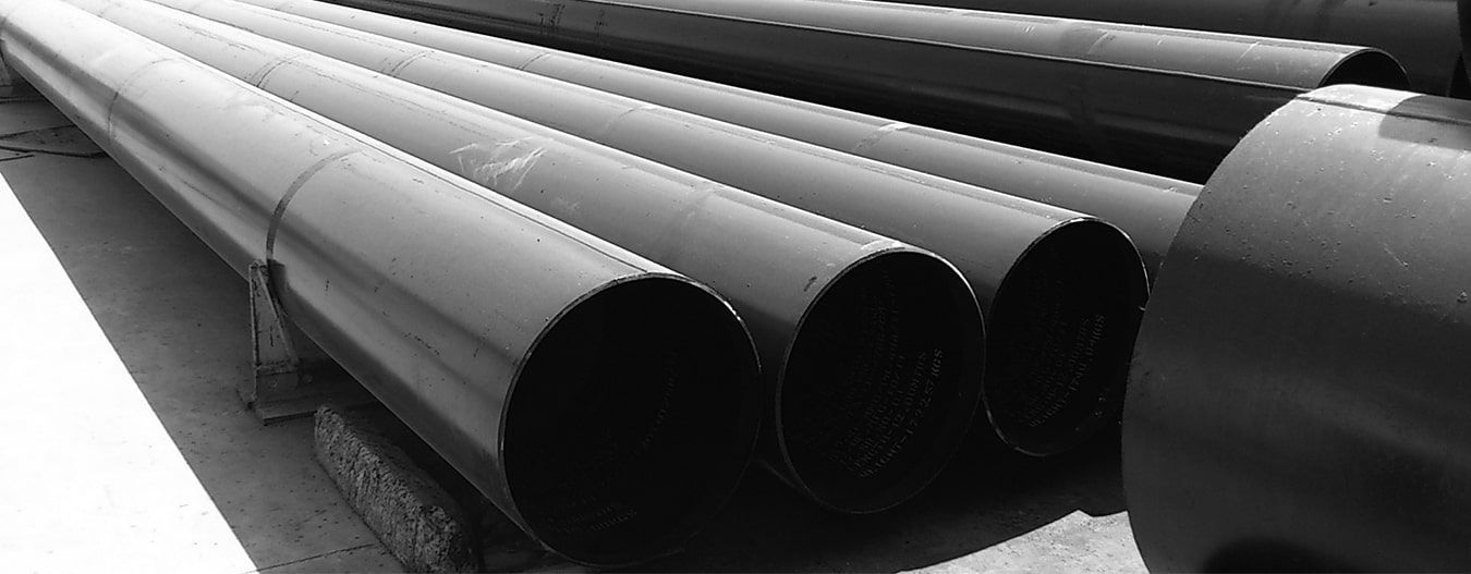 Carbon Steel Pipe Banner