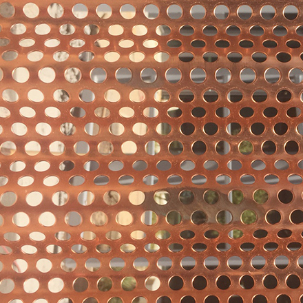 Copper Nickel Perforated Sheets