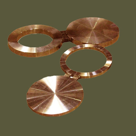 Copper Nickel 70 / 30 Spectacle Blind Flanges