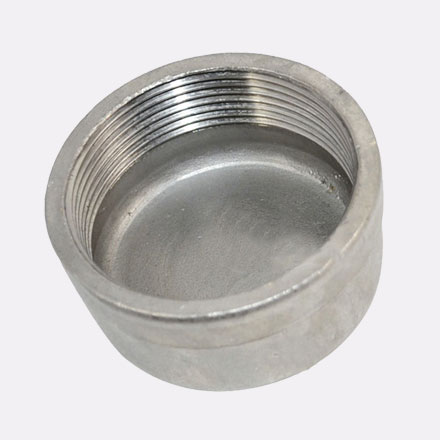 Hastelloy C-22 Threaded Pipe Cap