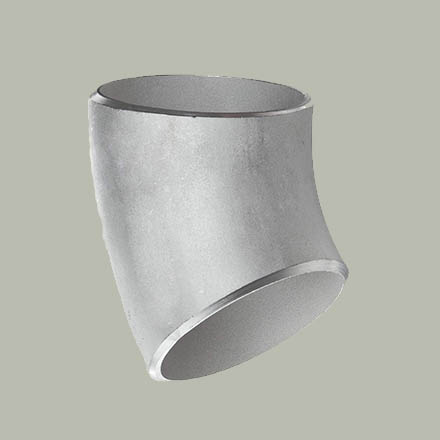 High Nickel Alloy Buttweld 45° Short Radius Elbows