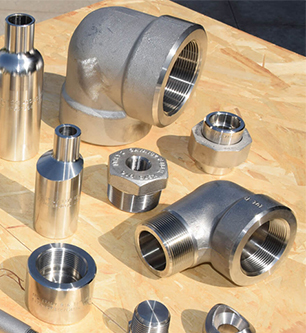 High Nickel Alloy Socketweld Forged Fittings
