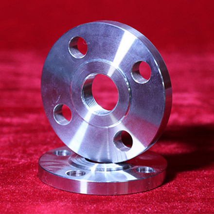 High Nickel Alloy Threaded Flanges