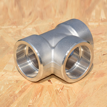High Nickel Alloy Socket Weld Tee