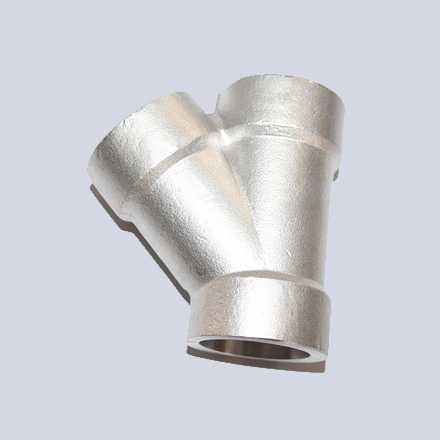 High Nickel Alloy Threaded 45° Lateral Tees
