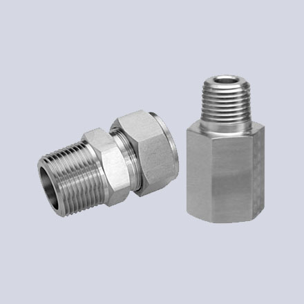 High Nickel Alloy Threaded Adapters