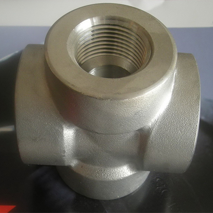High Nickel Alloy Threaded Cross
