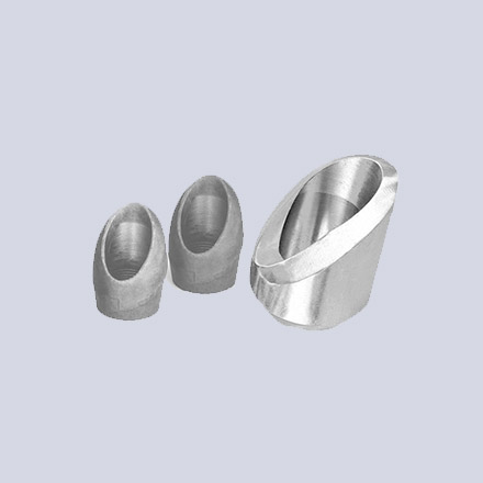 High Nickel Alloy Threaded Lateral Outlets