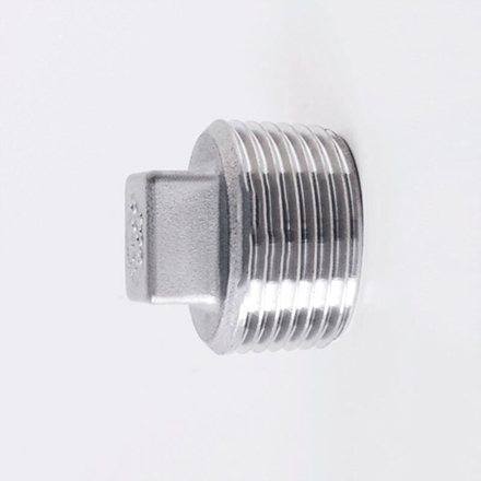 High Nickel Alloy Threaded Square Head Plugs