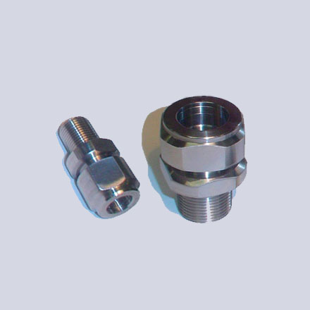 High Nickel Alloy Threaded Union (Male x Female)