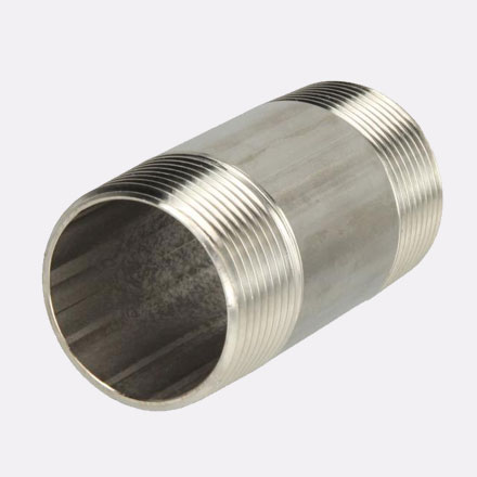 Hastelloy C-22 Threaded Pipe Nipple