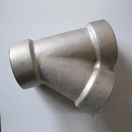 Stainless Steel Threaded 45° Lateral Tees