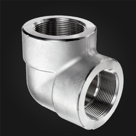 Stainless Steel Threaded 90° Elbows