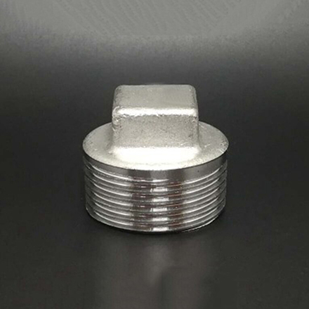Stainless Steel Threaded Square Head Plugs